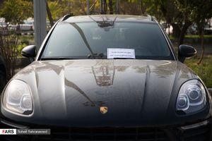 عکس/ توقیف خودرویهای میلیاردی سارقان تهران