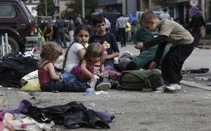 وضعیت دشوار کودکان بی خانمان در آمریکا