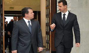 """پیام """"مهم"""" بشار اسد به پادشاه اردن"""