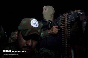تصاویری از نبرد شب گذشته حشدالشعبی با  داعش
