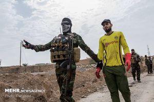 فیلم/ بازداشت 52 تروریست داعشی در صلاح الدین!