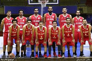 پیروزی بسکتبال ایران مقابل قطر