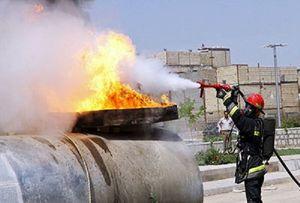 انفجار تانکر حمل میعانات گازی در ارسنجان