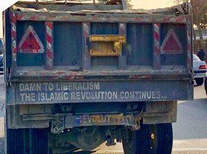 راننده کامیون انقلابی +عکس