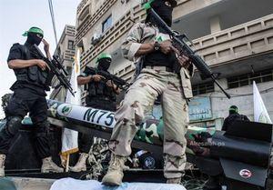 فیلم/ رونمایی از موشکها و نیروهای ویژه حماس