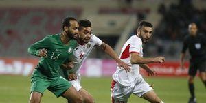 توقف تیم ملی عربستان در خانه اردن