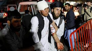 فیلم/ لحظه انفجار در هتل اورانوس کابل!