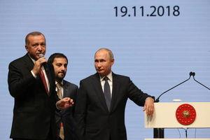 عکس/ دیدار پوتین و اردوغان در استانبول