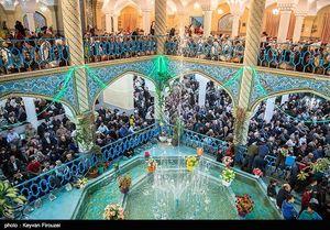 عکس/ جشن هفته وحدت در مسجد جامع سنندج
