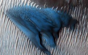 تصاویر جدید از سطح مریخ