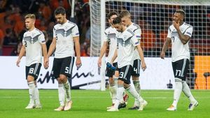 آلمان به سید دو یورو ۲۰۲۰ سقوط کرد