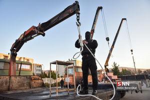 اجرای حکم اعدام سه نفر از محکومین سرقتهای مسلحانه در شیراز
