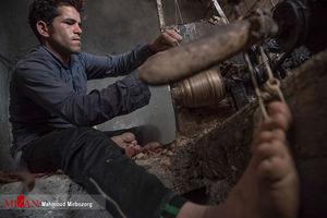 عکس/ تولید نخ ابریشم در تربت حیدریه