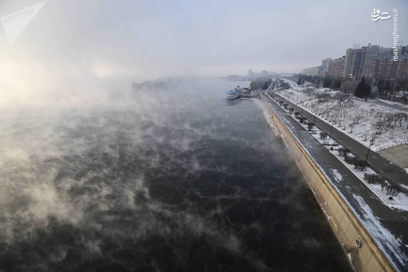 عکس/ سردترین شهر سیبری!