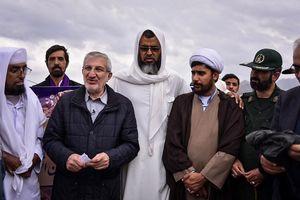 عکس/ سفر رئیس بنیاد مستضعفان به قلعه گنج