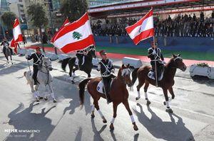 رژه روز استقلال لبنان