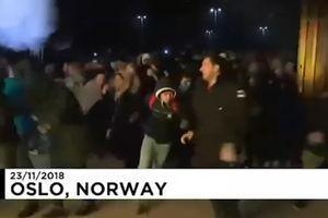 """فیلم/ دیدنی های""""جمعه سیاه"""" در نروژ!"""