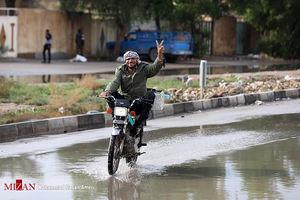 عکس/ مشکلات اهوازیها پس از باران!