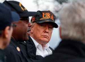 کلکسیون خرابکاریهای ترامپ در آتشسوزی کالیفرنیا/ وقتی رئیسجمهور آمریکا نام شهری را که در آن است نمیداند! + عکس و فیلم