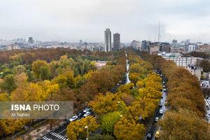 عکس/ حال خوب پاییزی پایتخت