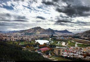 عکس/ طبیعت زیبای خرم آباد پس از باران پاییزی