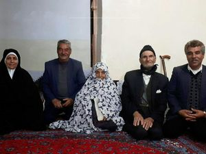ازدواج مرد 91 ساله با خانم 89 ساله در ایران