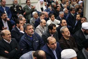 عکس/ حضور کارگردان معروف در دیدار امروز با رهبرانقلاب