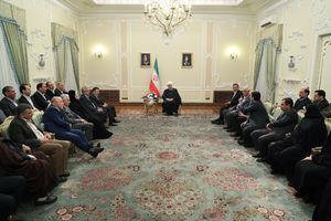 دیدار عیدانه با وزرا ، نمایندگان مجلس و مسوولان کشوری و لشگری