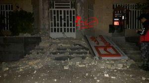 فیلم/ لحظه شروع زلزله کرمانشاه در یک فروشگاه!