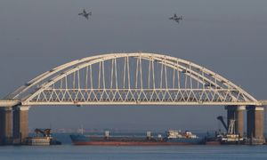 عکس/ درگیری نظامی روسیه و اوکراین