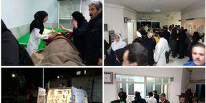 صوت/ آخرین آمار مصدومان زلزله کرمانشاه