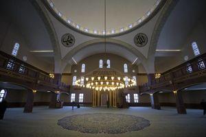 عکس/ افتتاح مسجد ساخت قطر در ترکیه