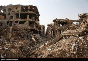 انفجار بمب در مسیر نیروهای ارتش ترکیه در حومه ادلب