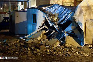 جدیدترین تصاویر از زلزله ۶.۴ ریشتری در سرپل ذهاب