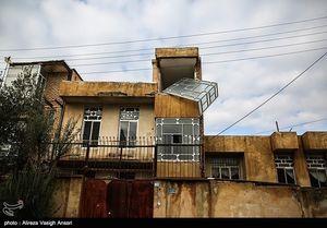عکس/ قصر شیرین پس از زلزله