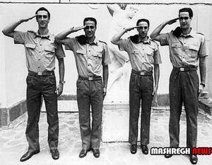 4 ستاره فوتبال ایتالیا در لباس سربازی