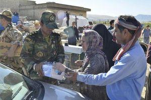 تشریح اقدامات ارتش در مناطق زلزلهزده