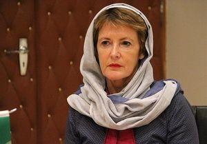 تعجب نماینده مجلس فرانسه از سانسور چهره واقعی زنان ایرانی