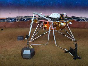 فیلم/ فرود ماهواره اینسایت به سطح کره مریخ