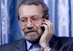 تماس تلفنی لاریجانی با استاندار کرمانشاه درباره وضعیت زلزلهزدگان