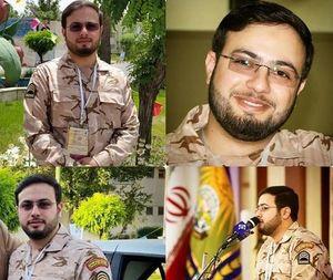 قاری شهید در لباس سربازی +عکس