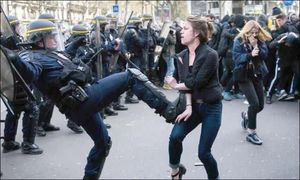 نه به خشونت علیه زنان با استاندارد یورو5 +عکس