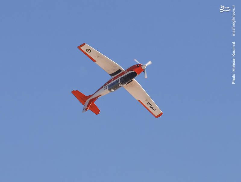 هواپیمای آموزشی PC7 نیروی هوایی ارتش