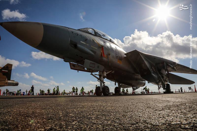 جنگنده f14 نیروی هوایی ارتش