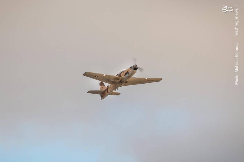 هواپیمای توکانو نیروی هوافضای سپاه