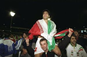 عکس های کمتر دیده شده از روز تاریخی فوتبال ایران