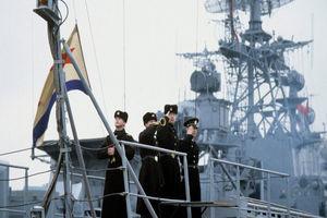 حرکت ناو روسی به سمت آبهای مشترک با اوکراین