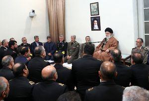 عکس/ دیدار فرماندهان نیروی دریایی ارتش با رهبرانقلاب