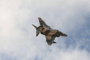 سقوط یک هواپیمای نظامی در ساحل تنگستان