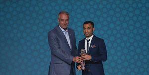 یک قطری بهترین بازیکن آسیا شد!/ حسنزاده و تیم داوری ایران جزو برترینهای قاره کهن +عکس